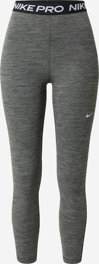 NIKE Pantalon de sport en gris / noir, Vue avec produit