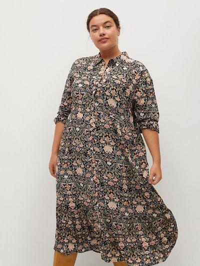 VIOLETA by Mango Kleid 'Natalia8' in mischfarben / schwarz, Modelansicht