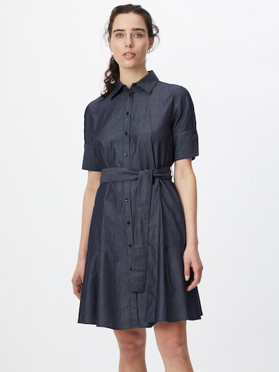 HUGO Bluse 'Elith' in blau, Modelansicht