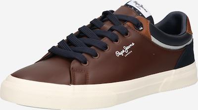 Pepe Jeans Sneaker 'KENTON CLASS' in marine / kastanienbraun / weiß, Produktansicht
