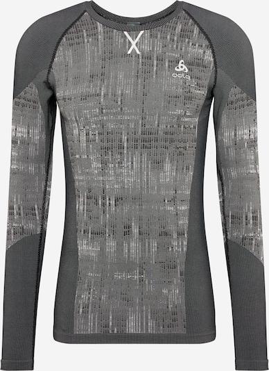 Sportiniai apatiniai marškinėliai 'Blackcomb Bl' iš ODLO , spalva - pilka / juoda, Prekių apžvalga