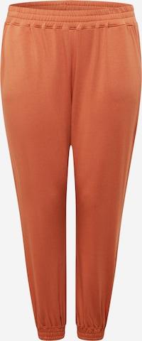Pantaloni 'Naomi' de la ABOUT YOU Curvy pe portocaliu