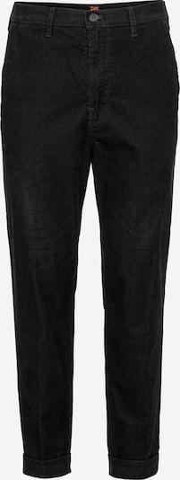 Chino stiliaus kelnės iš Lee , spalva - juoda: Vaizdas iš priekio