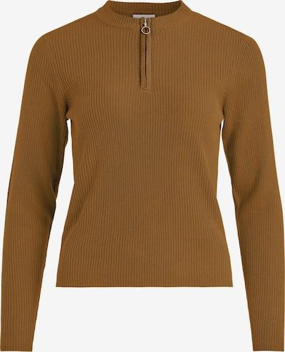 VILA Pullover 'Popsa' in braun, Produktansicht