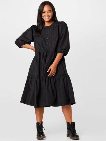 KAFFE CURVE Dress 'Malulu' in Black