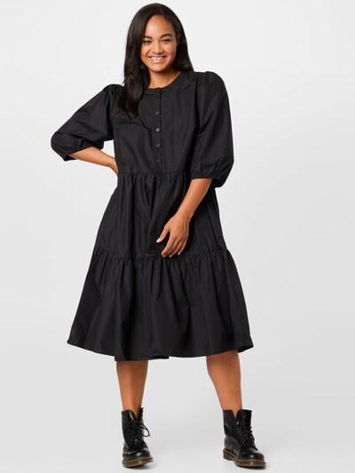 KAFFE CURVE Šaty 'Malulu' - černá, Model/ka