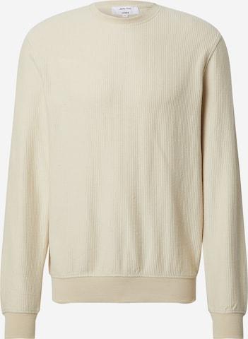 DAN FOX APPAREL Sweatshirt 'Torge' i beige