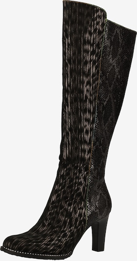 Laura Vita Laarzen in de kleur Zwart, Productweergave