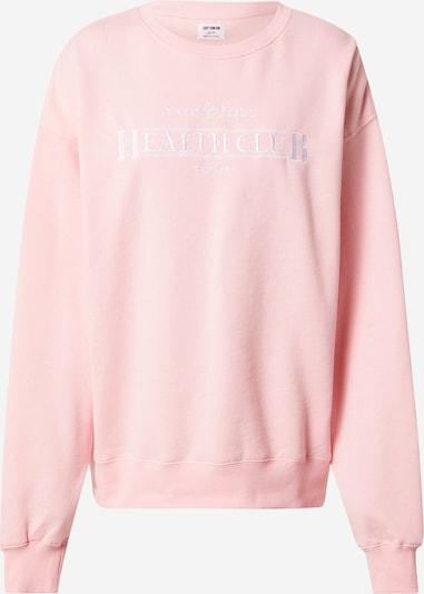 Cotton On Sweat-shirt en rose / blanc, Vue avec produit