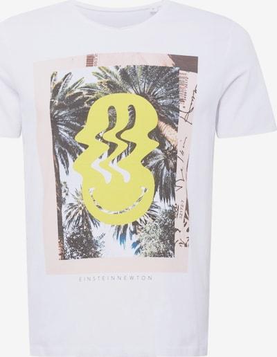 Tricou EINSTEIN & NEWTON pe alb, Vizualizare produs