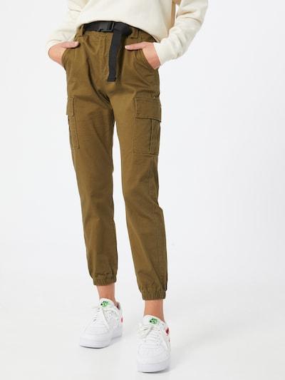 Hailys Hose 'Canice' in khaki, Modelansicht