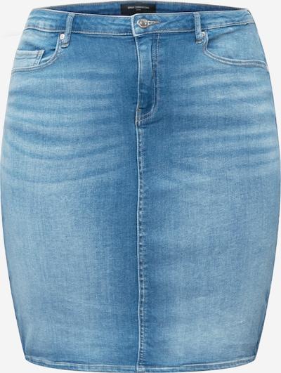 ONLY Carmakoma Rok 'Laola' in de kleur Blauw denim, Productweergave