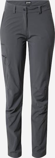 Schöffel Outdoorbroek in de kleur Donkergrijs, Productweergave
