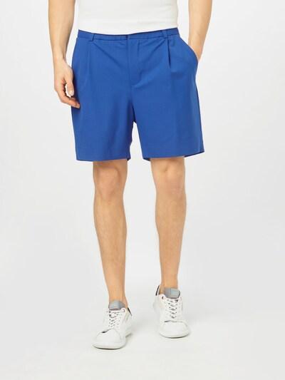 égkék Libertine-Libertine Élére vasalt nadrágok 'Uptown', Modell nézet