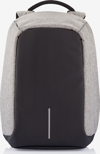 XD Design Rucksack 'Bobby XL' in hellgrau / schwarz, Produktansicht