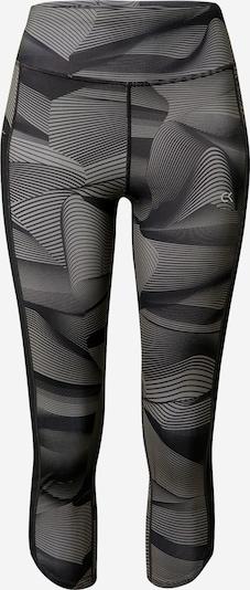 Calvin Klein Performance Pantalon de sport en gris foncé / noir, Vue avec produit