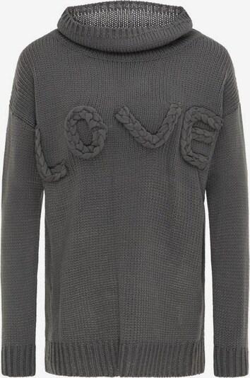 IZIA Pullover in dunkelgrau, Produktansicht