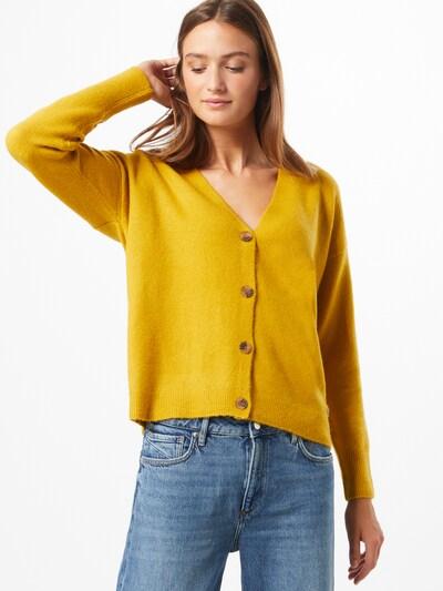 ESPRIT Strickjacke in gelb: Frontalansicht