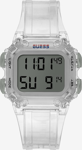 GUESS Uhr in Transparent