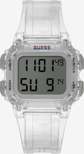 GUESS Uhr in transparent, Produktansicht