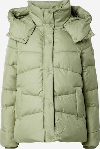 TOM TAILOR Winter Jacket in Green