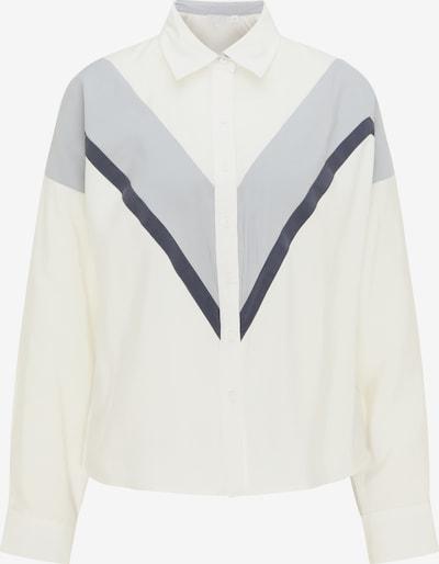 RISA Blouse in de kleur Grijs / Zwart / Wit, Productweergave