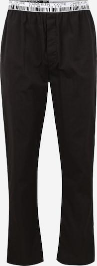 Calvin Klein Underwear Pantalón de pijama en negro / blanco, Vista del producto