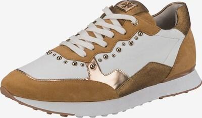 Högl Sneaker in camel / gold / weiß, Produktansicht