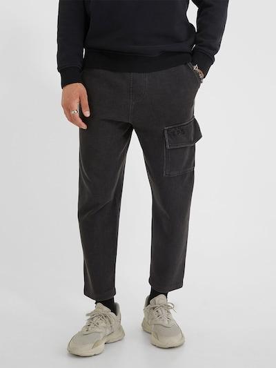 Pantaloni 'Aris 214' Young Poets Society pe negru amestecat, Vizualizare model
