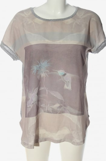 lykkelig Top & Shirt in M in Brown / Light grey / Pink, Item view