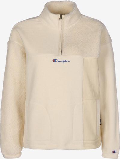 Champion Authentic Athletic Apparel Sportief sweatshirt in de kleur Beige / Blauw / Lichtrood, Productweergave