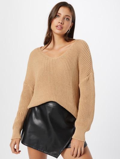 ABOUT YOU Jersey 'Liliana' en beige, Vista del modelo