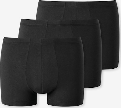SCHIESSER Boxers '3-Pack Uncover' en noir, Vue avec produit