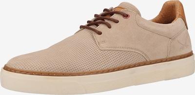 SANSIBAR Sneaker in beige / braun, Produktansicht