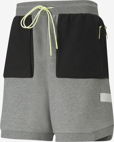 PUMA Sportbroek 'Standby' in de kleur Grijs / Zwart, Productweergave