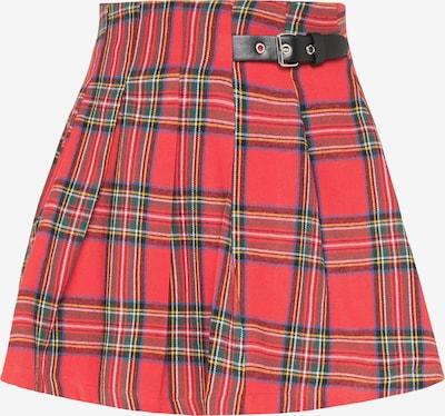 myMo ROCKS Suknja u crvena / crna, Pregled proizvoda