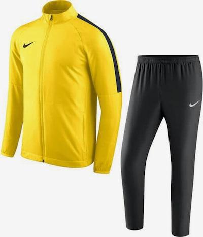 NIKE Trainingsanzug in gelb / schwarz, Produktansicht
