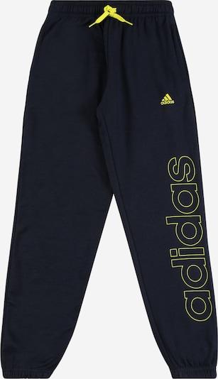 Sportinės kelnės iš ADIDAS PERFORMANCE , spalva - neoninė geltona / juoda, Prekių apžvalga