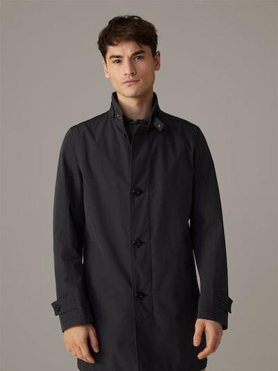 STRELLSON Kurzmantel ' Richmond ' in schwarz, Modelansicht