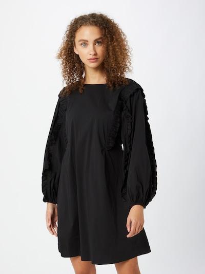 Neo Noir Kleid 'Topaz' in schwarz, Modelansicht