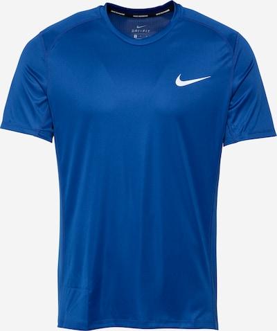 Tricou funcțional 'MILER' NIKE pe albastru / alb, Vizualizare produs