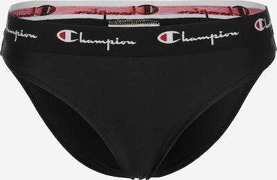 Champion Authentic Athletic Apparel Bikini Unterteil 'Sportswear' in rot / schwarz / weiß, Produktansicht