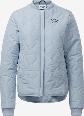 Reebok Sport Athletic Jacket 'Outerwear Core' in Blue