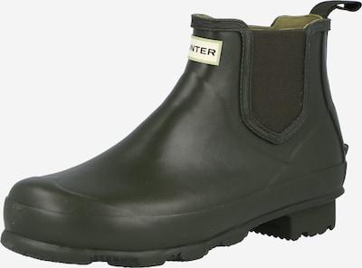 Boots chelsea 'NORRIS' HUNTER di colore verde pastello / verde scuro / bianco, Visualizzazione prodotti
