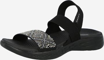 SKECHERS Sandale 'ON-THE-GO 600' in Schwarz