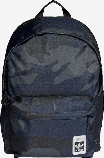 ADIDAS ORIGINALS Rucksack in navy / anthrazit / dunkelgrau / schwarz / weiß, Produktansicht