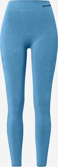 Hummel Pantalon de sport 'Ci' en bleu fumé, Vue avec produit