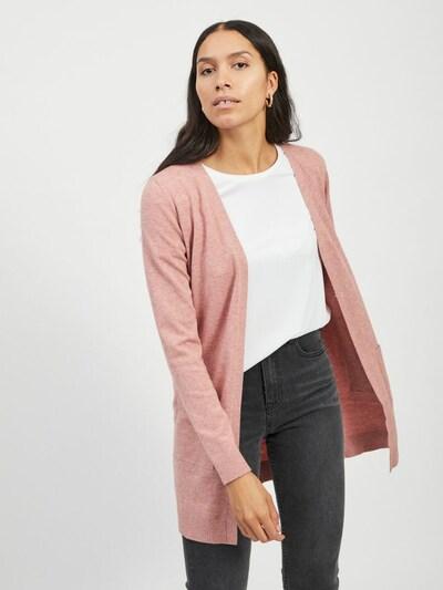 OBJECT Strickjacke in rosé, Modelansicht