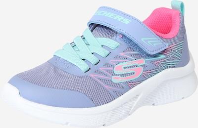 SKECHERS Brīvā laika apavi 'MICROSPEC - BOLD DELIGHT' ūdenszils / lavandas / rozā, Preces skats
