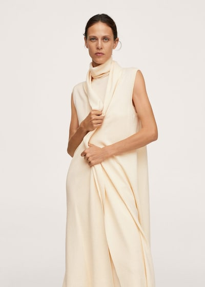 MANGO Strickjacke 'Heidi' in beige, Modelansicht